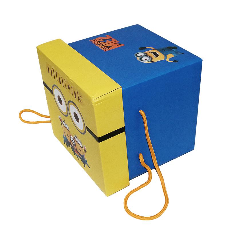 小黄人瓦楞纸礼品盒