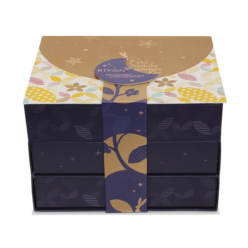 精品抽屉式礼品手工盒