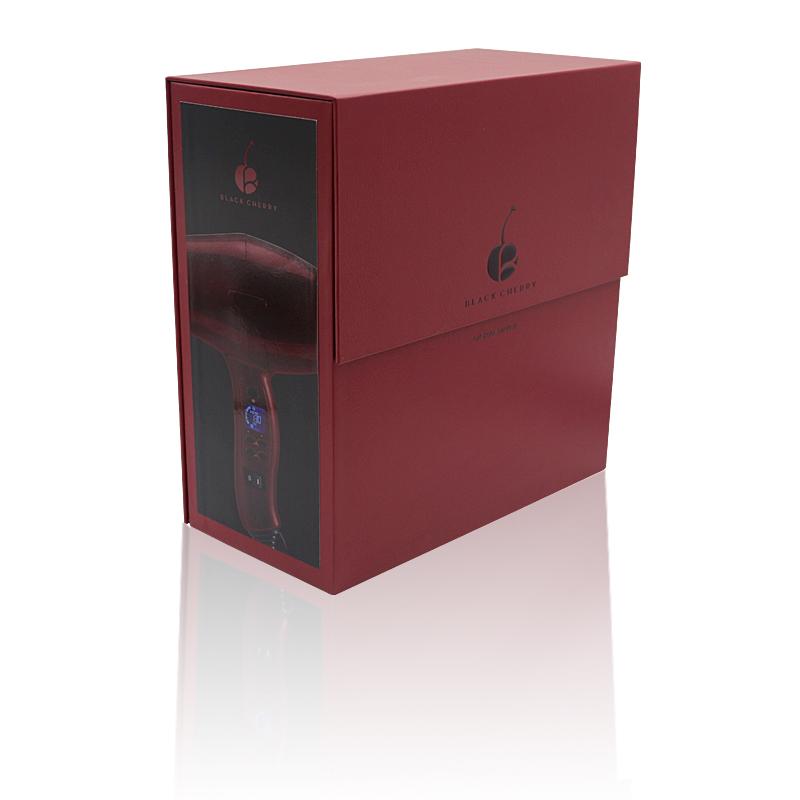 高档质量特殊型包装盒,电子吹风机手工盒