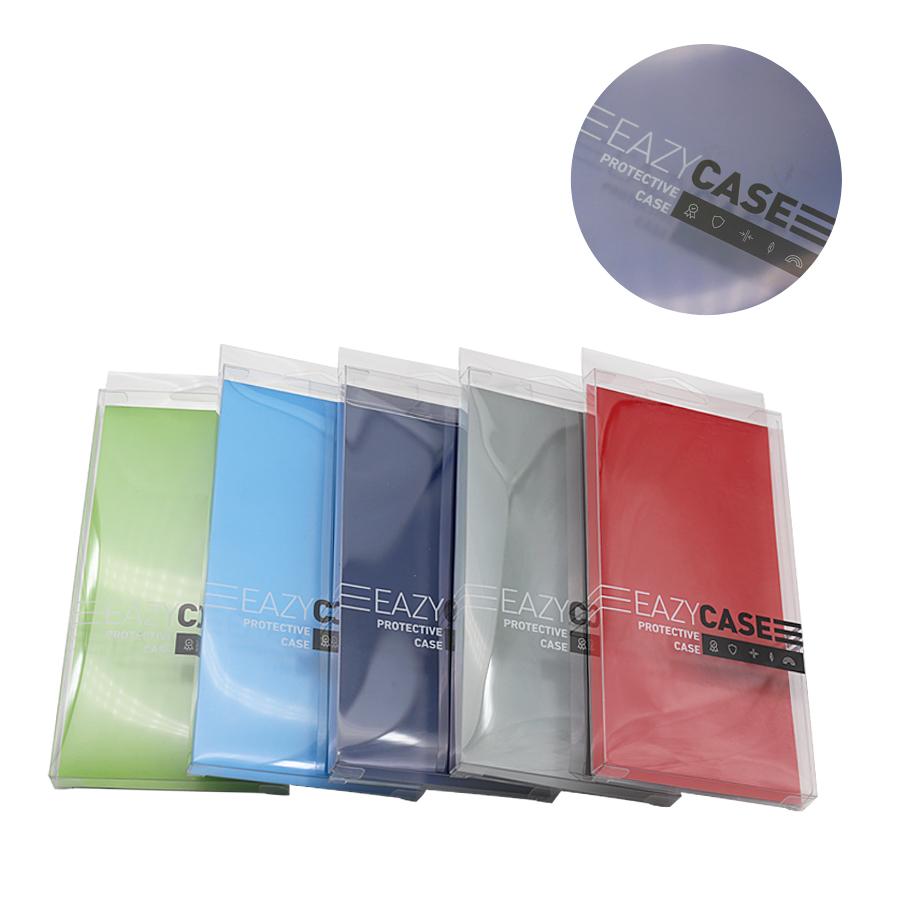 手机壳透明胶盒定制,印刷LOGO