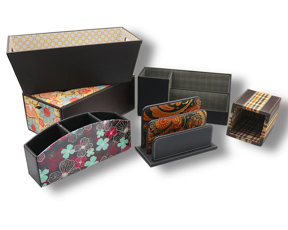 高档皮革礼盒收纳盒抽屉盒包装木盒定制