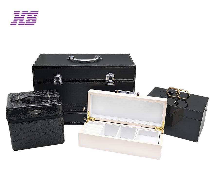 厂家定制皮革制品高档箱包,收纳盒