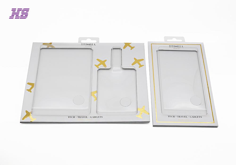 吸塑纸卡包装,透明窗口挂钩电子配件包装