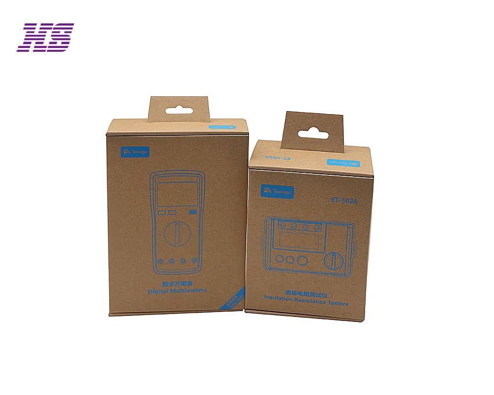 电子设备配件包装盒,牛皮纸瓦楞盒包装,uv油墨印刷logo