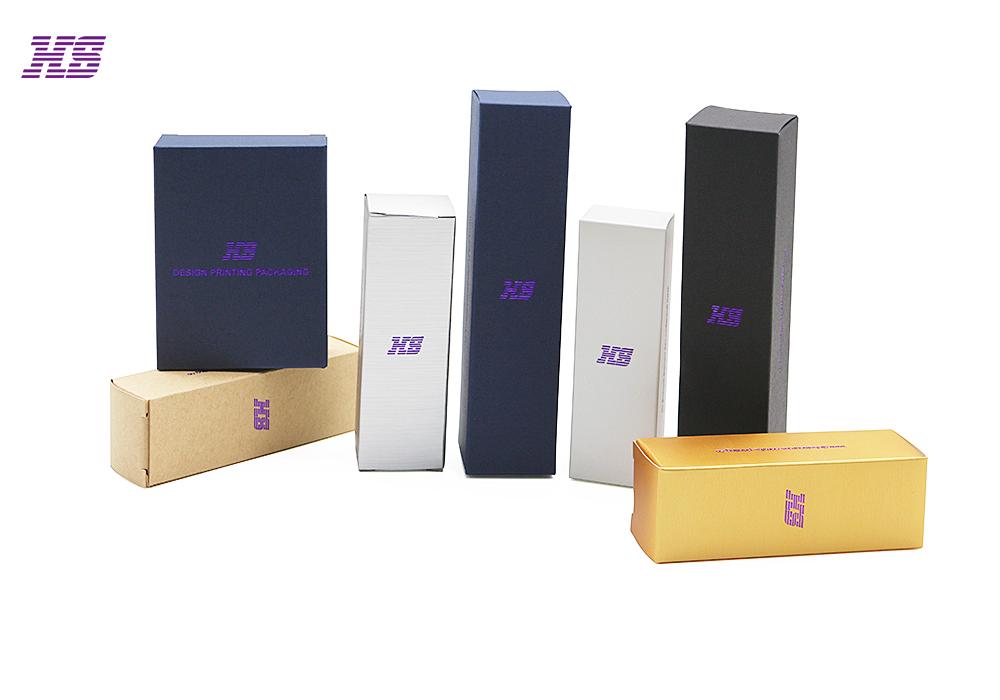 东莞宏昇定制特种纸包装盒,压纹纸定制,珠光纸银卡纸可印刷烫金logo