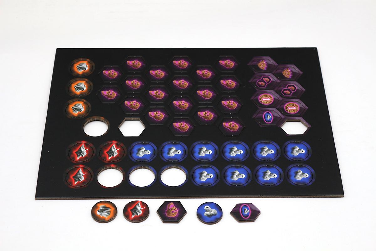 桌游棋盘,游戏代币厂家专业印刷定制,定制logo