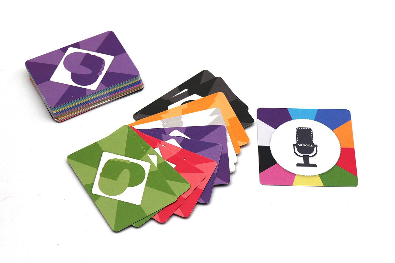 儿童家庭益智卡牌定制加工可印刷logo
