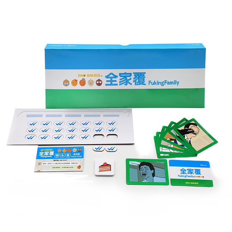 定制OEM热销特卖设计纸板儿童桌游印刷