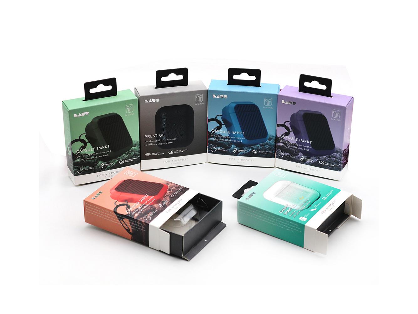 厂家定制无线蓝牙耳机包装盒彩盒抽屉盒定制logo
