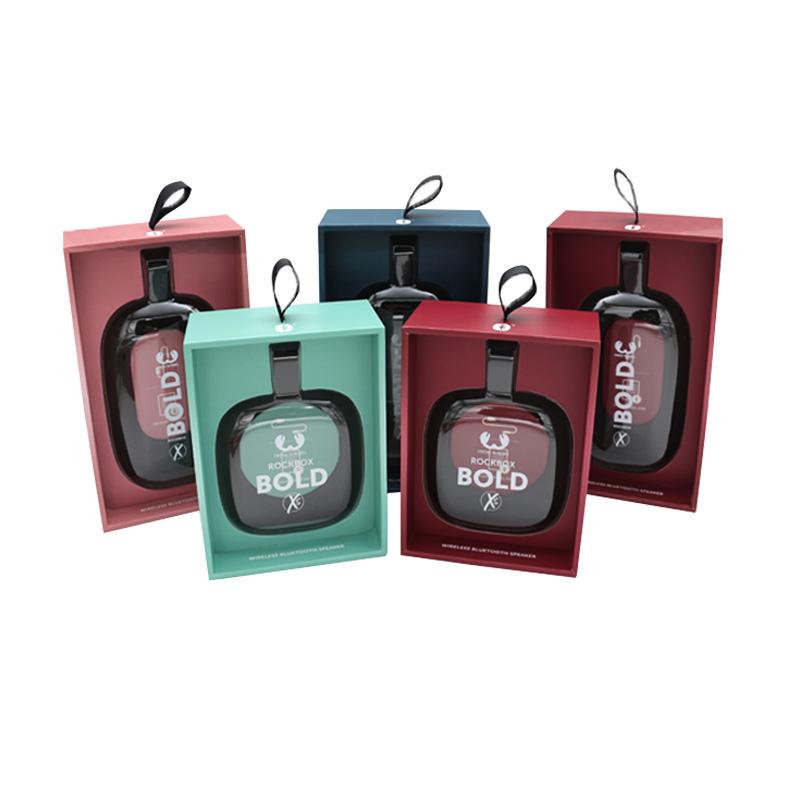 高质量手工盒吸塑音响包装,厂家定制logo