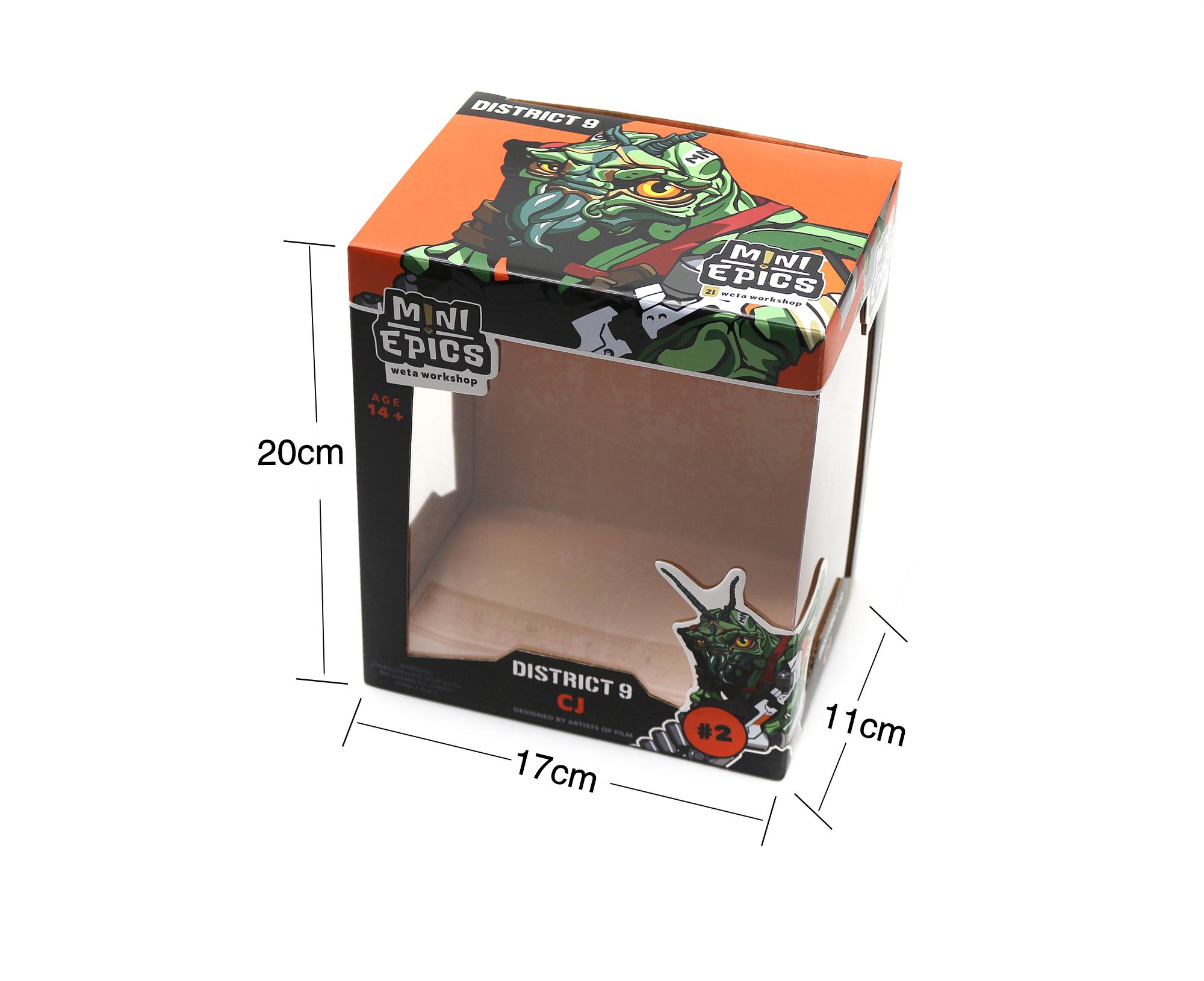 厂家定制玩具包装盒瓦楞盒包装,高质量印刷透明窗口设计高端定制