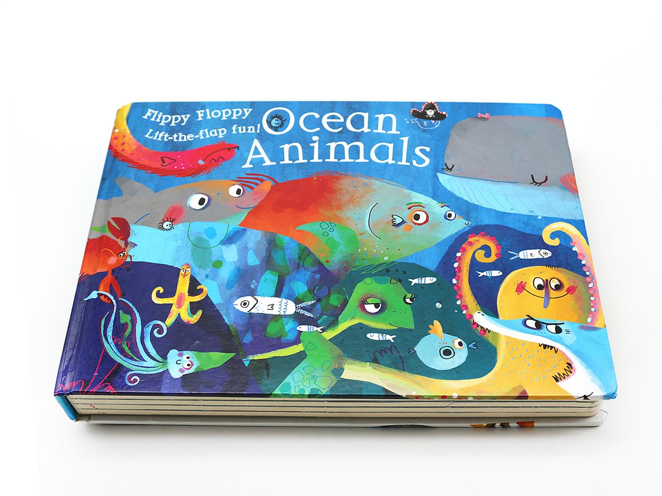 厂家定制精装书本厂家定制印刷儿童读物识字绘本