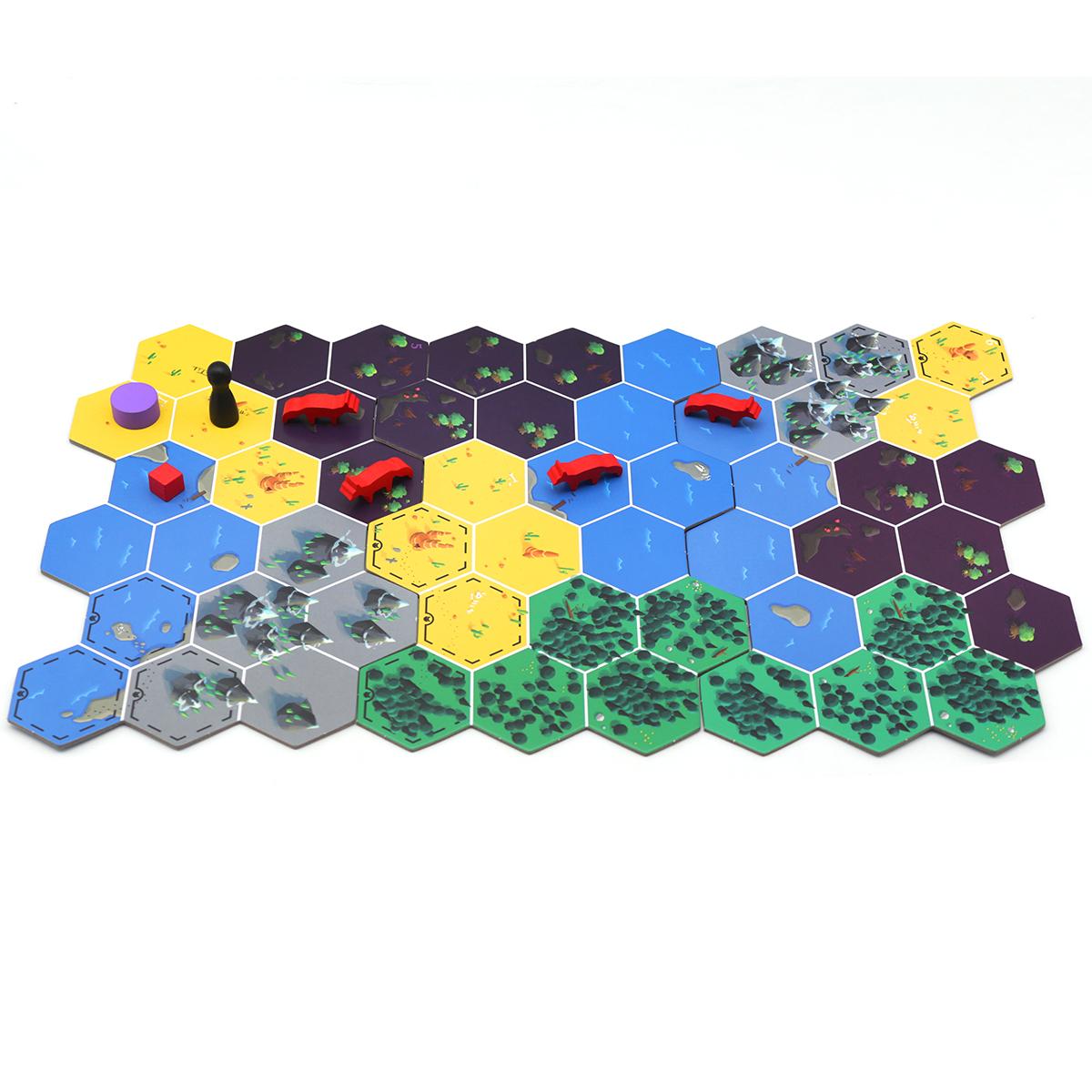 OEM&ODM桌游卡牌、地图、配件定制