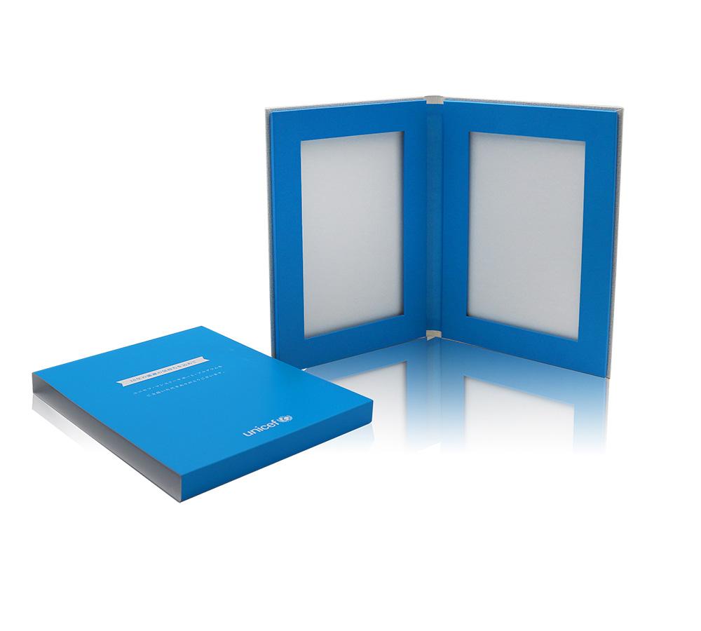 私人订制翻盖磁铁礼品盒包装 书型手工盒印刷定制