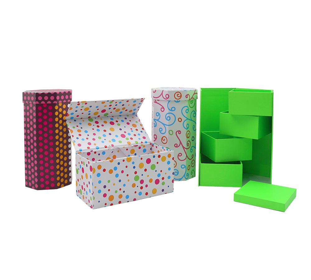 专业定制八边形礼盒 创意折叠异形盒礼品包装盒定做印刷