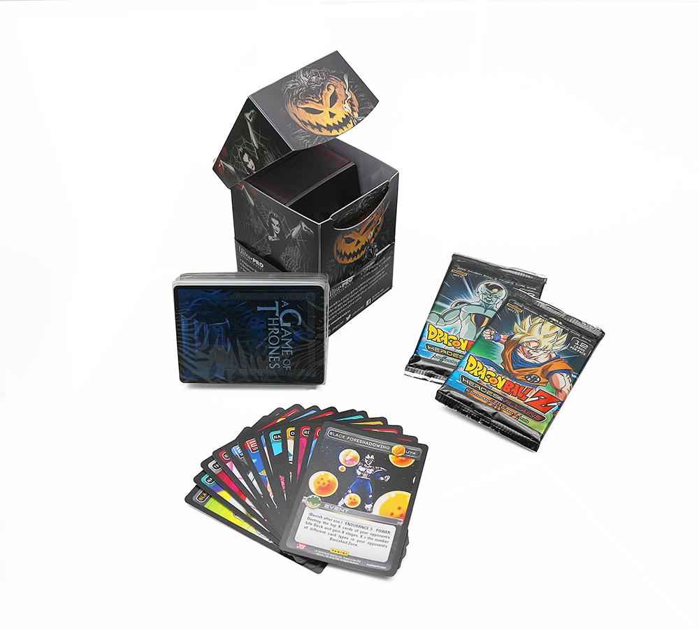 厂家定制儿童游戏卡片 趣味套装纸牌 家庭聚会桌游卡牌量大价优