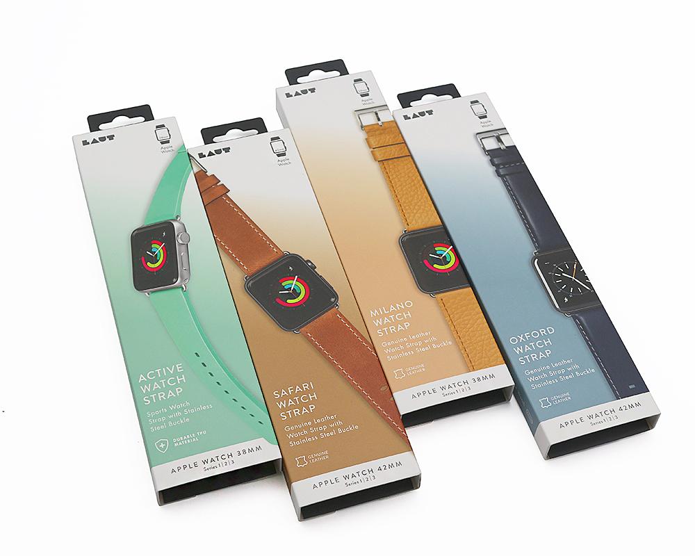 厂家定制科技产品包装订做手表带配件折叠纸盒包装