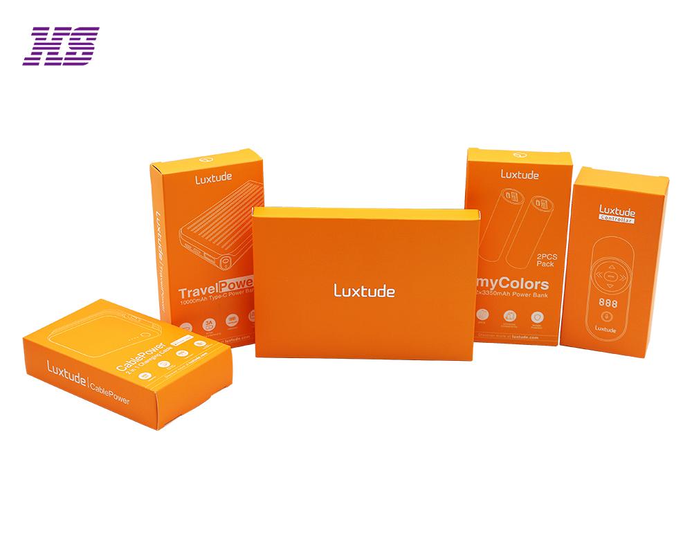 专业定制充电宝电子配件包装彩盒