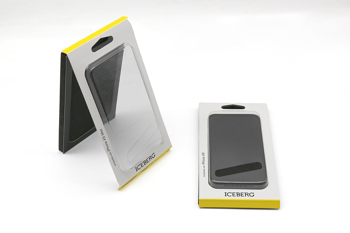 专业定制精美手机壳包装盒 保护膜书型折叠翻盖盒