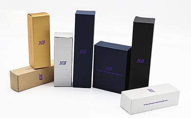 厂家定做化妆品白卡纸盒