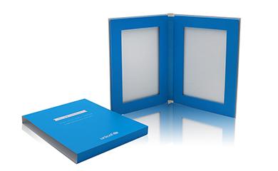 定制书型折叠盒